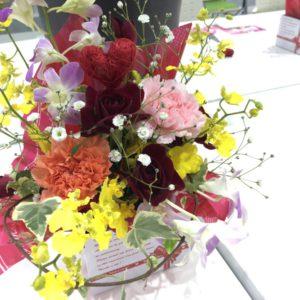 花き市場見学ととうほく蘭展のお手伝いに行ってきました
