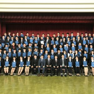 菅原学園合同卒業式 パート2