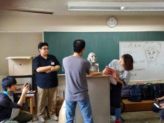 「片桐裕司 彫刻セミナー」in デジタルアーツ仙台 1日目