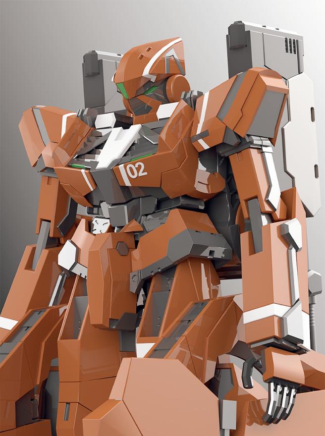 ロボット模写