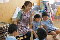 少人数のクラス編制で一人ひとりを大切にする保育