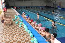 水泳の指導