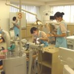 歯科衛生科3年生校内患者実習