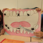 歯科衛生科2年生 保育園・幼稚園実習の練習