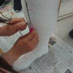 義肢装具学のギプス採型実習!