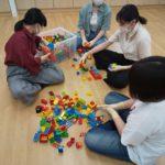 子どもに大人気!レゴブロックを使って