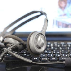 """<span class=""""title"""">臨床実習の学生サポートにオンライン、ビデオ通話が導入されました。</span>"""