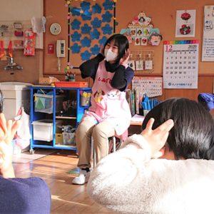 """<span class=""""title"""">姉妹園での観察実習。コロナ禍に子どもと直接かかわることができる幸せをかみしめて。</span>"""