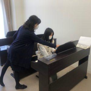 "<span class=""title"">令和3年度 入学生のピアノの演習授業がスタート</span>"