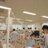 歯科衛生科2年生 校内実習