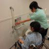 介護福祉科 トイレでの排泄介助