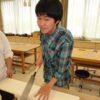作業療法科1年生 木工~箱作り~